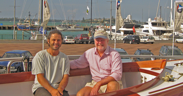 Paul and Chuck aboard Redwing