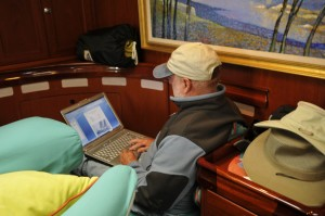 chuck-writing-at-sea