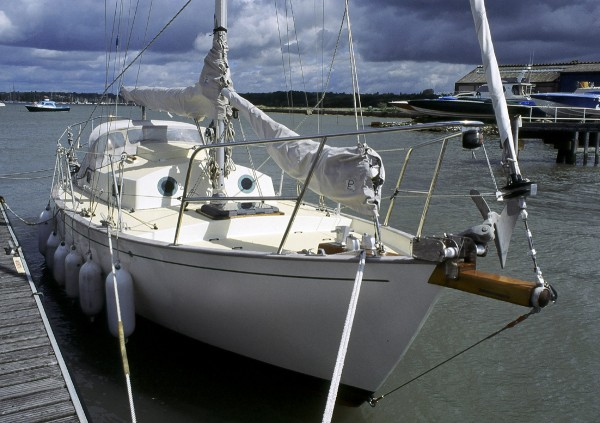 A FRANCES 26 at Warsash