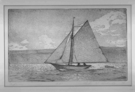 Peter's etching
