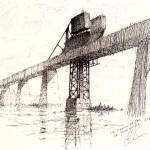 Le pont chemin de fer de Thomasville