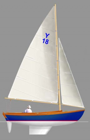 The YORK 18 will be trimmed out in beautiful varnished teak.