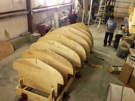 Starting the Hull Mold