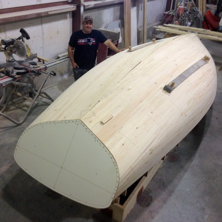 HULL PATTERN NEARING COMPLETION
