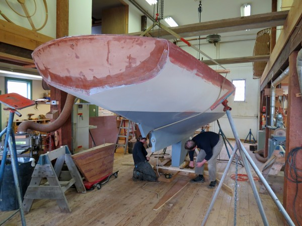 fitting the keel