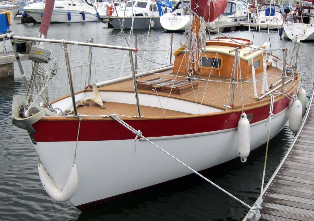 24′ Double-ended voyager CAROL – Chuck Paine Yacht Design LLC