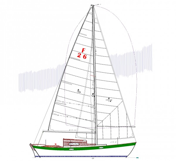FRANCES II SAILPLAN