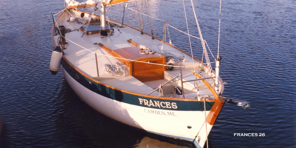 26 Frances amp II Double enders Chuck Paine Yacht