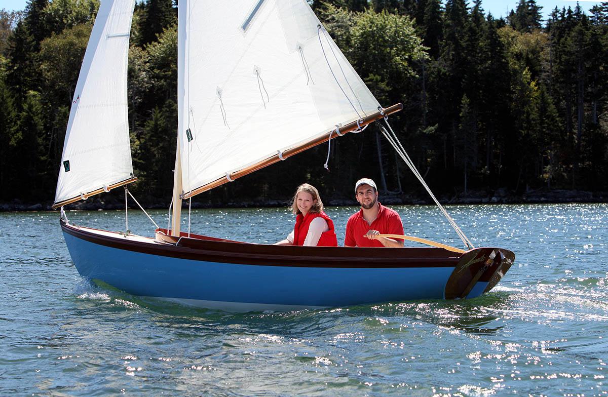 the paine 14 u2013 a herreshoff u2013 inspired daysailor chuck paine yacht design llc