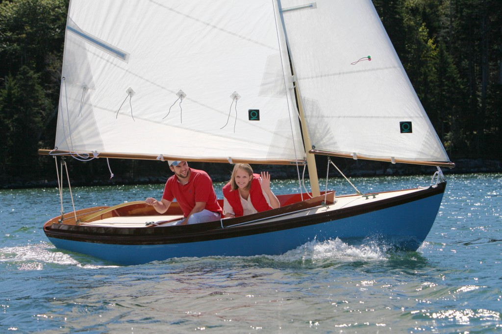 THE FINEST SMALL YACHT EVER BUILT