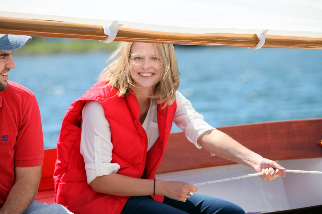Take her sailing in your PAINE 14 and you'll make her smile.