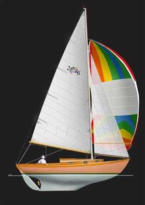 New Paine 26 Sailplan