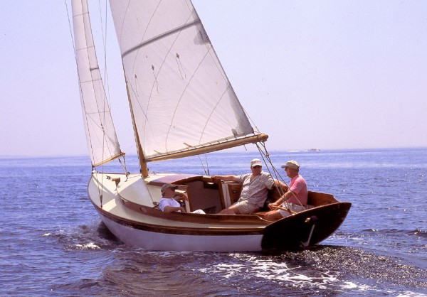 This beautiful, Herreshoff-insoired classic design could be yours.