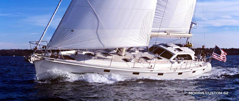 Visions of Johanna -- 62' Morris Yacht : designed by Chuck Paine