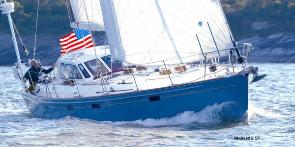 The Morris Apogee 51 is one of Morris' high-speed cruising yachts.