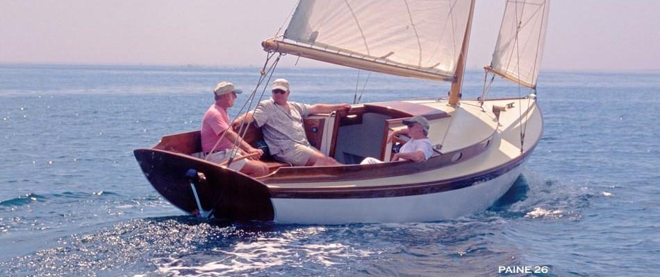 Annie by Chuck Paine yacht designer
