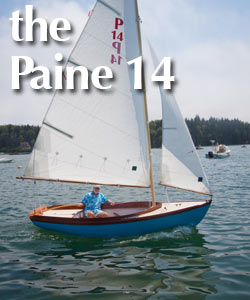 The Paine 14, a trailerable Herreshoff 12 1/2