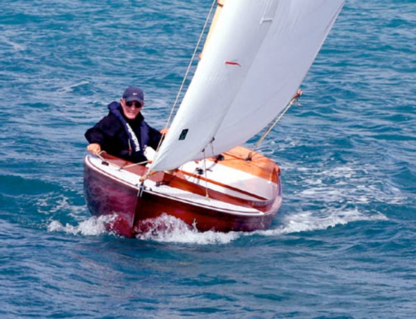 Unlike the consumer products of the last century, she reeks of quality with her varnished select mahogany trim. Yes, this means you have to maintain her, but if you do, just as is true of a Herreshoff 12 ½, in 100 years she'll be worth fifty times what you paid for her!