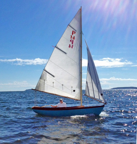The Paine 14 – A Herreshoff – inspired daysailor – Chuck Paine Yacht